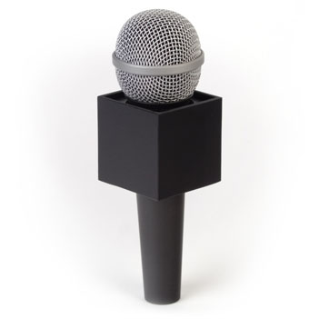 Square Mic Flag - Item # B-S200B - BENCHMARKUSA Promotional Products Inc.