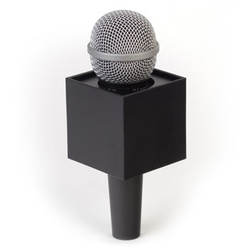 Square Mic Flag - Item # B-S250B - BENCHMARKUSA Promotional Products Inc.