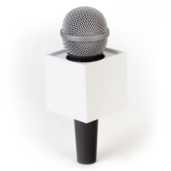 Square Mic Flag - Item # B-S250W - BENCHMARKUSA Promotional Products Inc.