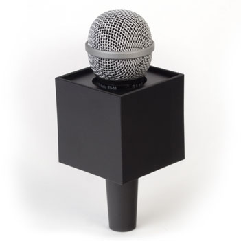 Square Mic Flag - Item # B-S275B - BENCHMARKUSA Promotional Products Inc.