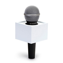 Four Sided (Rectangle) Mic Flags - Rectangular Mic Flag