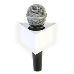 Three Sided (Triangle) Mic Flags - Triangular Mic Flag