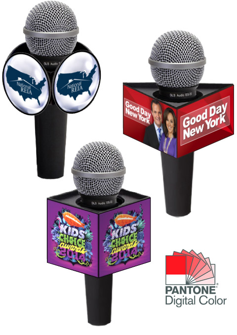Digital Print Mic Flags